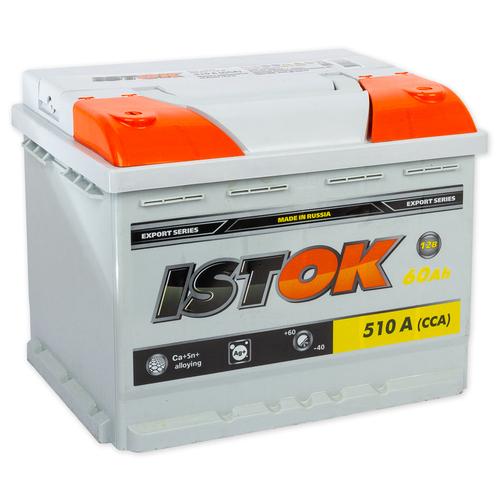 Аккумулятор ИСТОК 60 А/ч  EN510