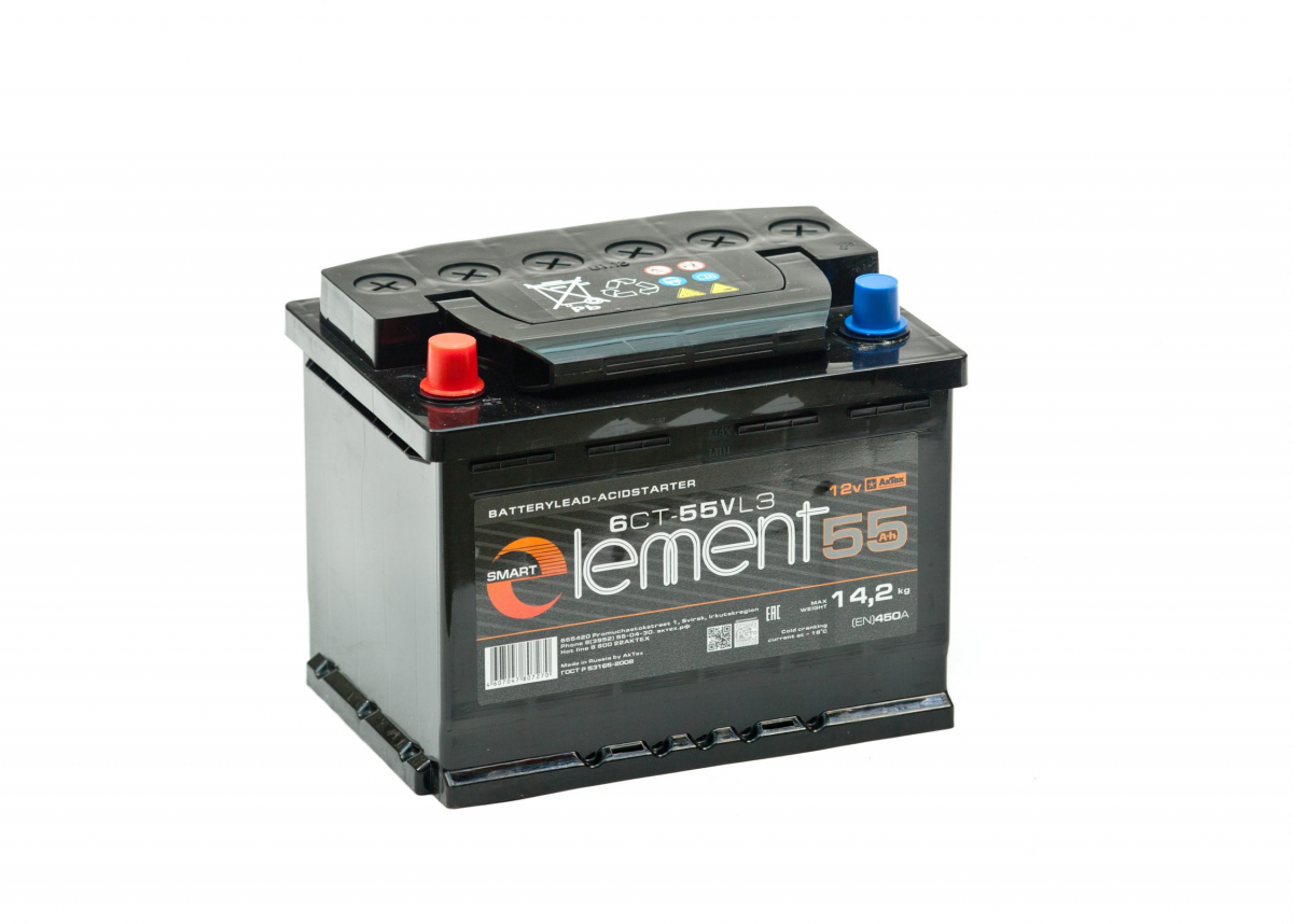 Аккумулятор Smart ELEMENT 55L