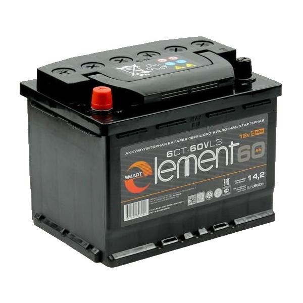 Smart ELEMENT 60Ah 500A L+