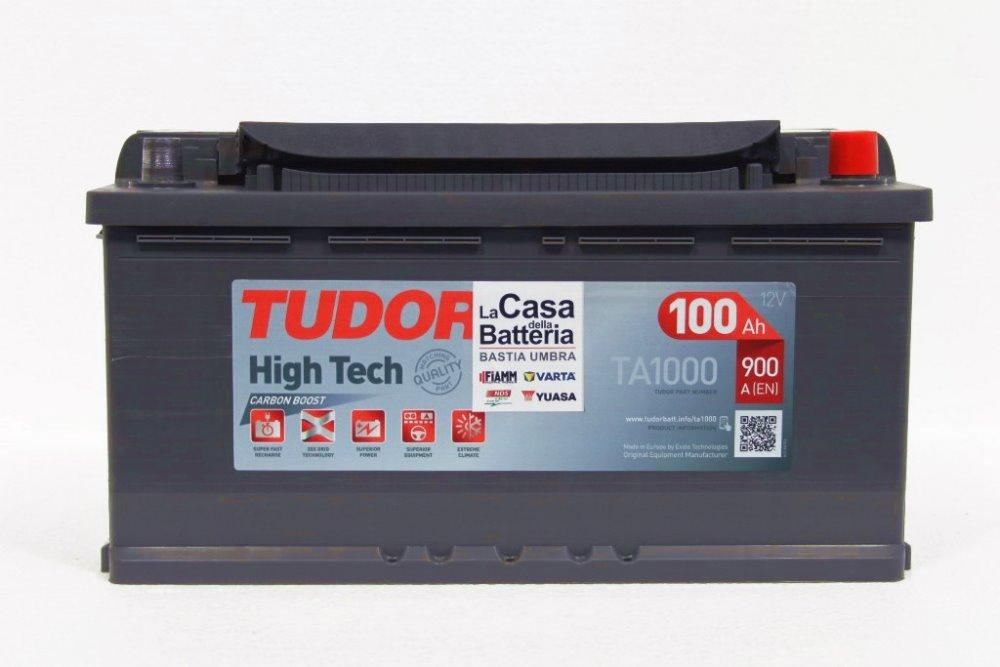 TUDOR High-Tech 100Ah 900А R+