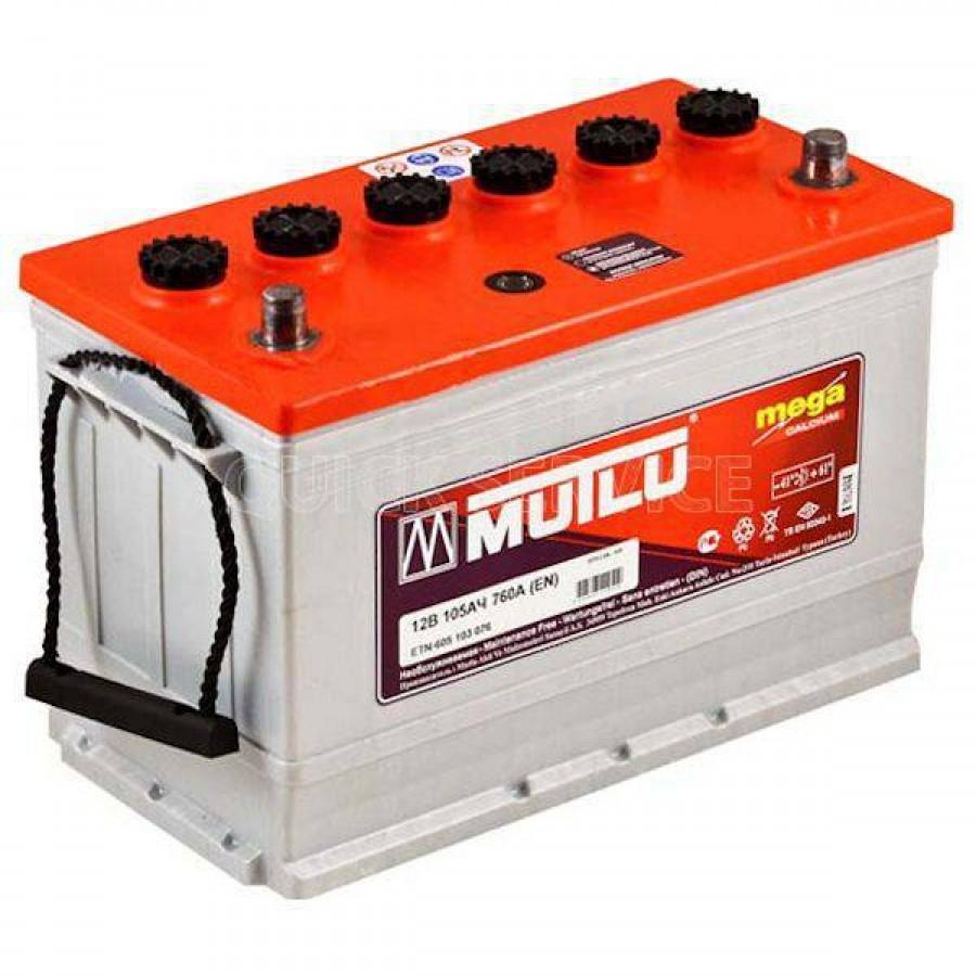 Аккумулятор MUTLU SFB 105 А/ч EN760