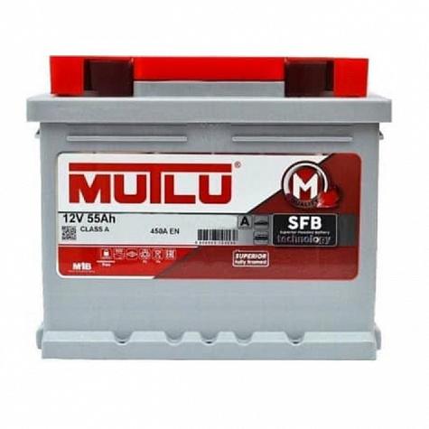 Аккумулятор MUTLU SFB 55 А/ч ОБР EN450