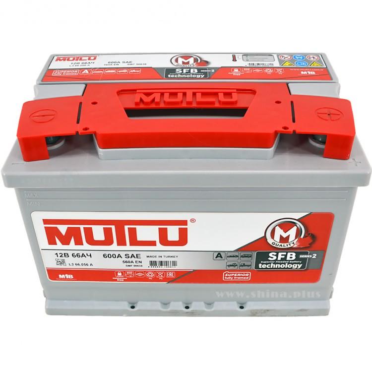 Аккумулятор MUTLU SFB 66 А/ч ОБР EN560
