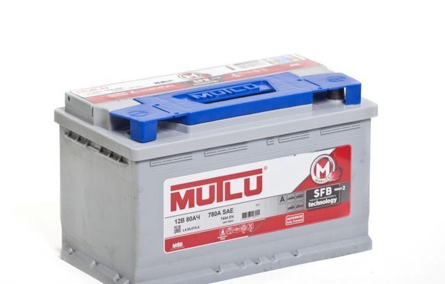 MUTLU SFB 80Ah 740А R+,низкий