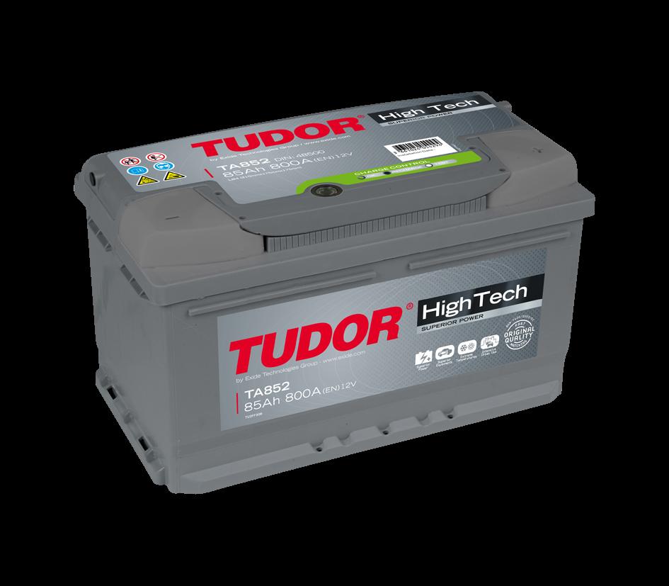Аккумулятор TUDOR High-Tech 85 А/ч TA852 ОБР EN800 низк