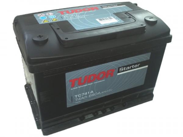Аккумулятор TUDOR Starter 74 А/ч TC740 ОБР EN680