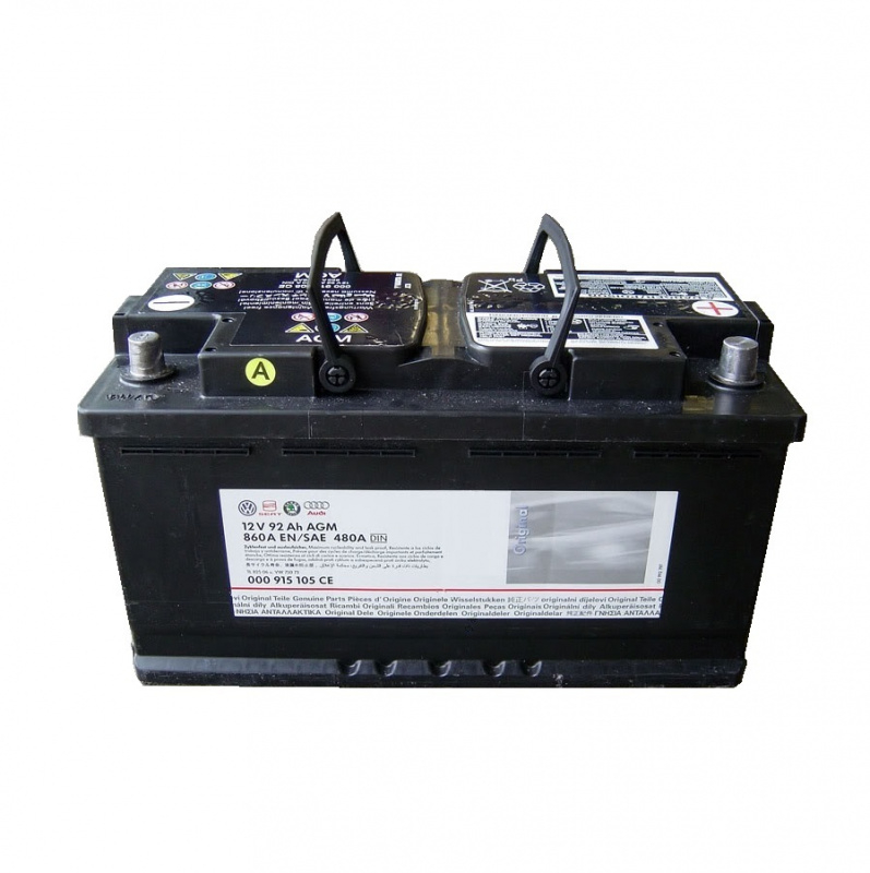 Аккумулятор VAG 92AH/520A  AGM