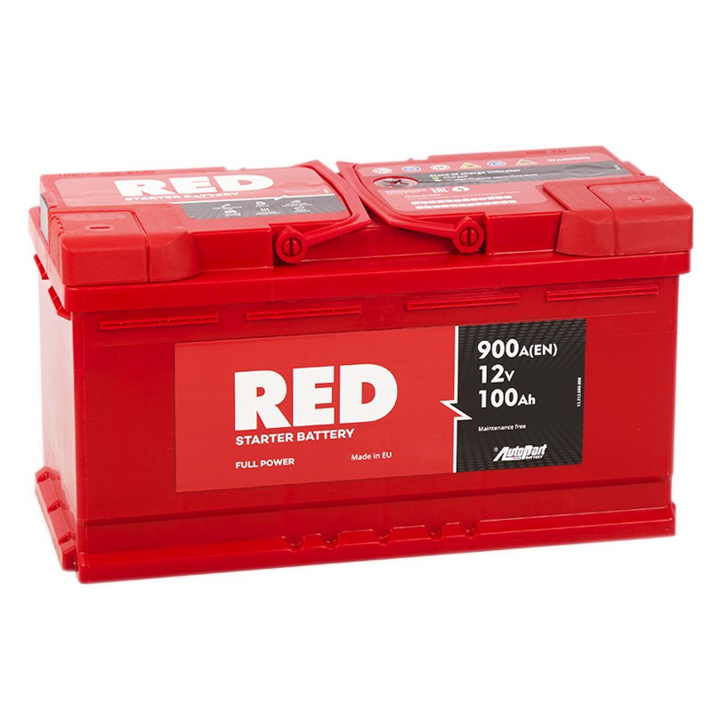 RED 100Ah 900A R+