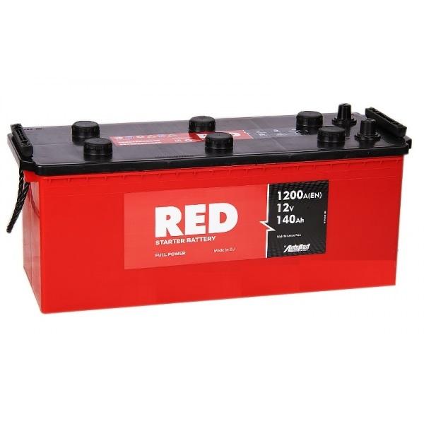 Аккумулятор RED 140Rus EN1200А
