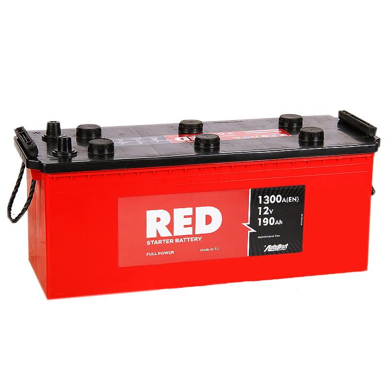 Аккумулятор RED 190Euro EN1300А