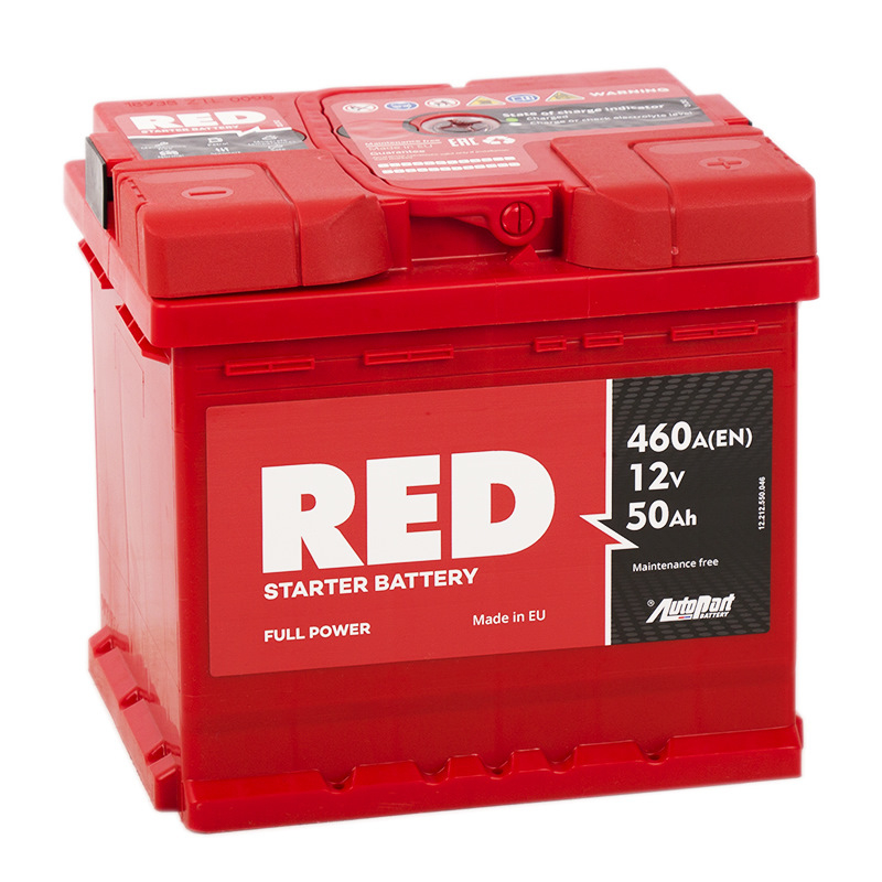 Аккумулятор RED 50R EN460А