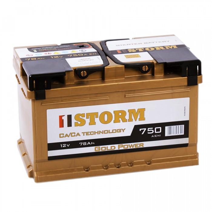 Аккумулятор STORM GOLD 78SR EN750
