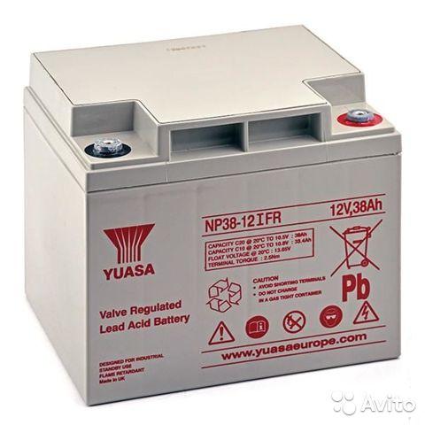 Аккумулятор для ИБП YUASA NP38-12IFR