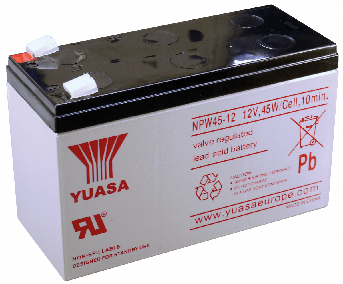 Аккумулятор для ИБП YUASA NPW45-12