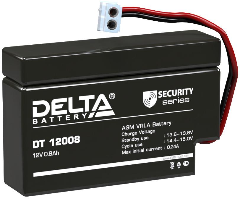 Аккумулятор для ИБП DELTA DT 12008
