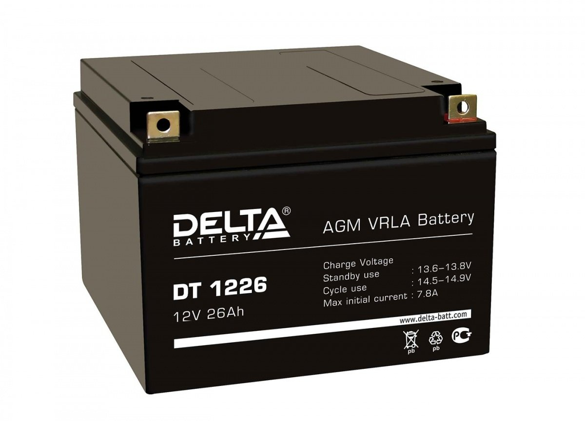 Аккумулятор для ИБП DELTA DT 1226