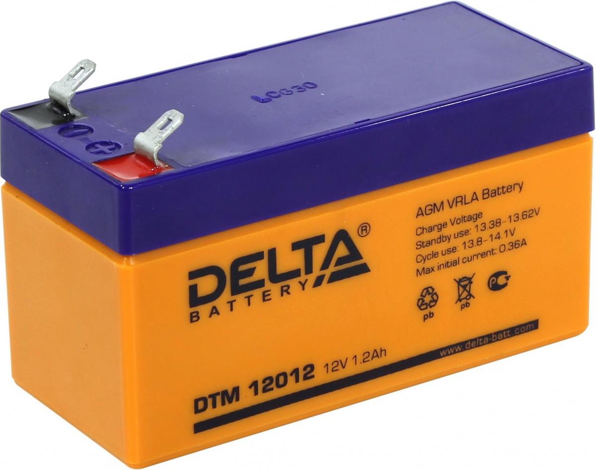 Аккумулятор для ИБП DELTA DTM 12012