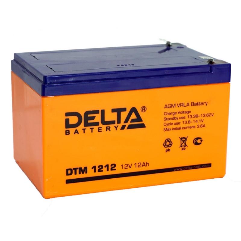 Аккумулятор для ИБП DELTA DTM 1212