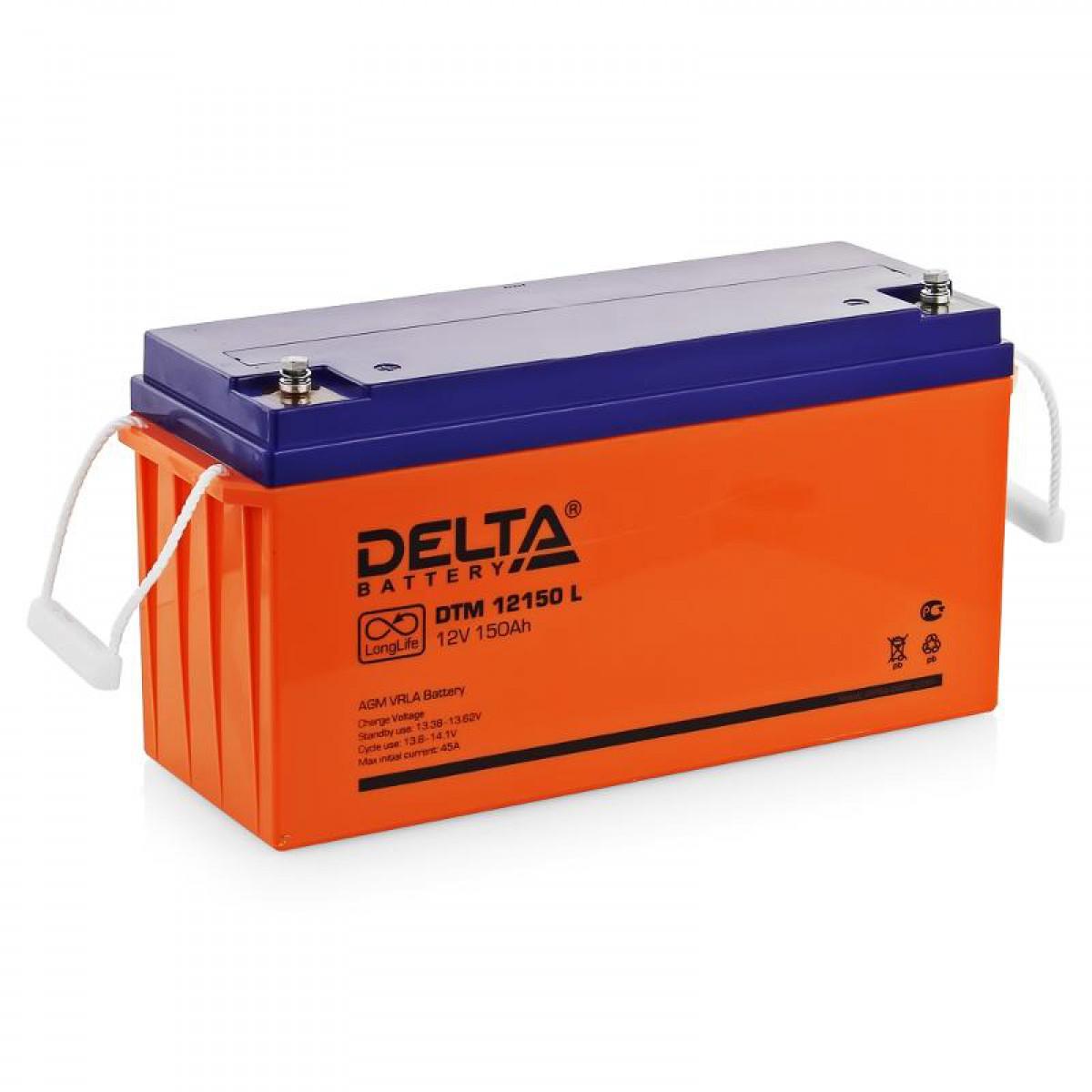 Аккумулятор для ИБП DELTA DTM 12150L