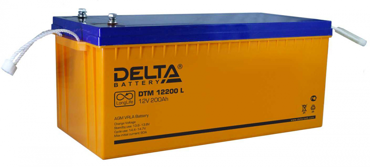 Аккумулятор для ИБП DELTA DTM 12200L