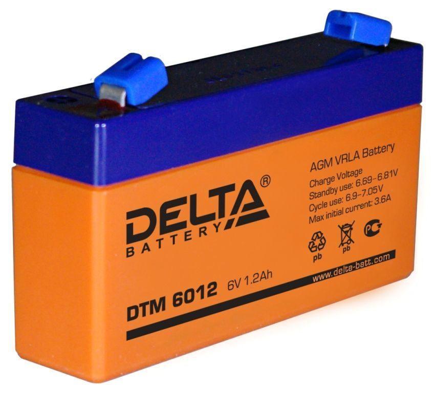 Аккумулятор для ИБП DELTA DTM 6012