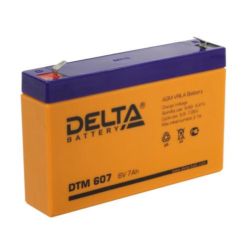 Аккумулятор для ИБП DELTA DTM 607