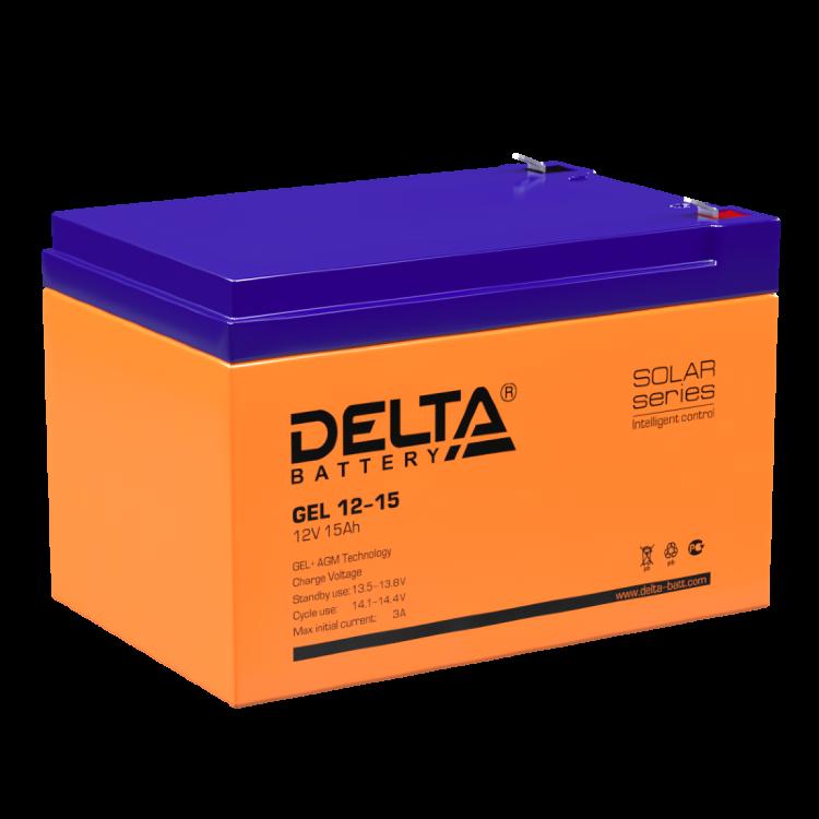 Аккумулятор для ИБП DELTA GEL 12-15