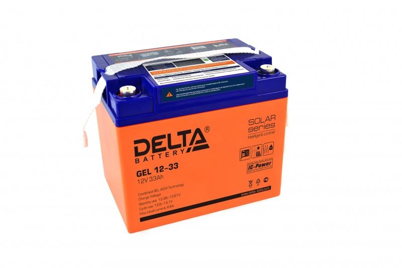 Аккумулятор для ИБП DELTA GEL 12-33