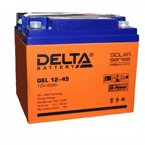Аккумулятор для ИБП DELTA GEL 12-45