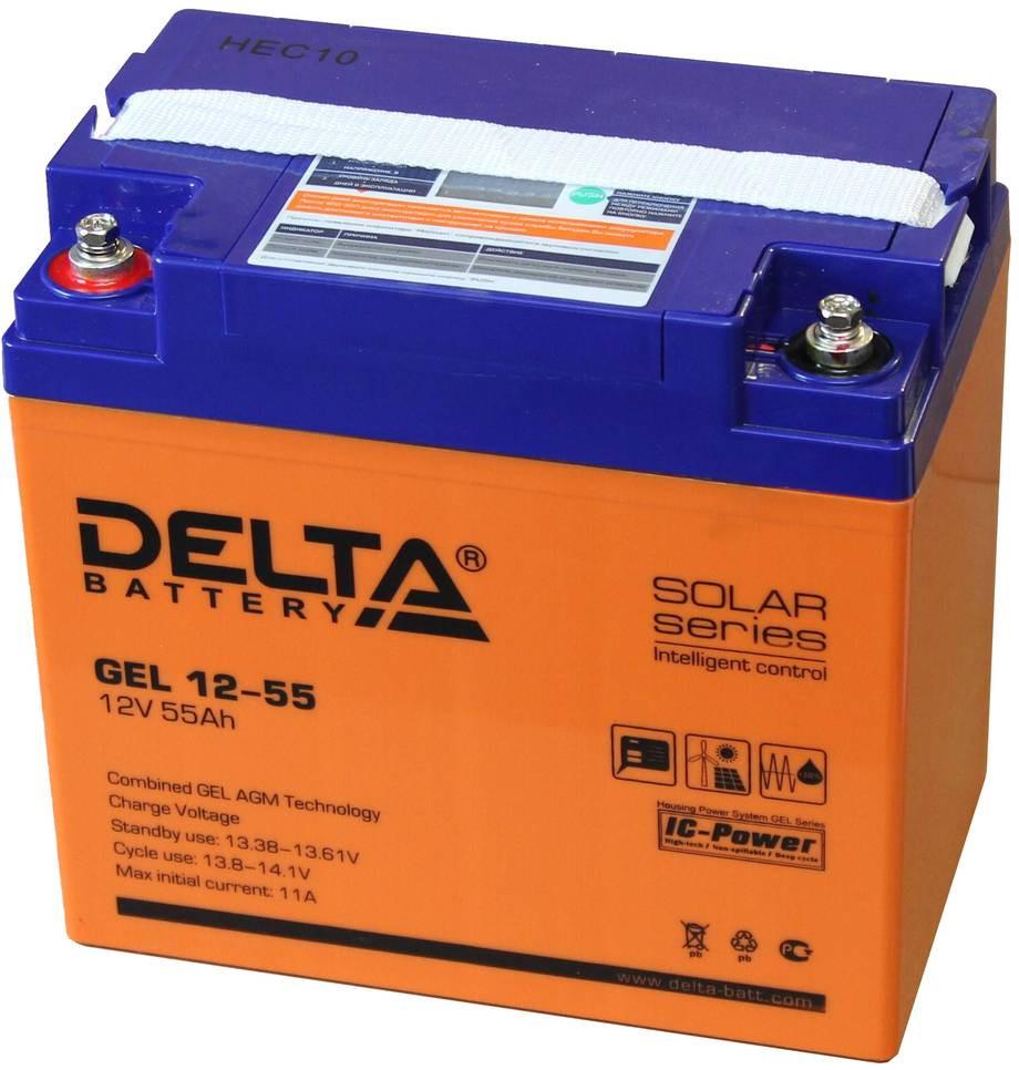 Аккумулятор для ИБП DELTA GEL 12-55