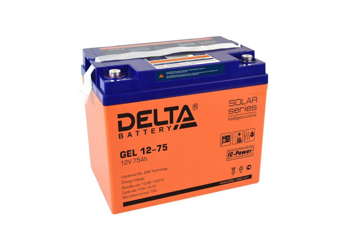 Аккумулятор для ИБП DELTA GEL 12-75
