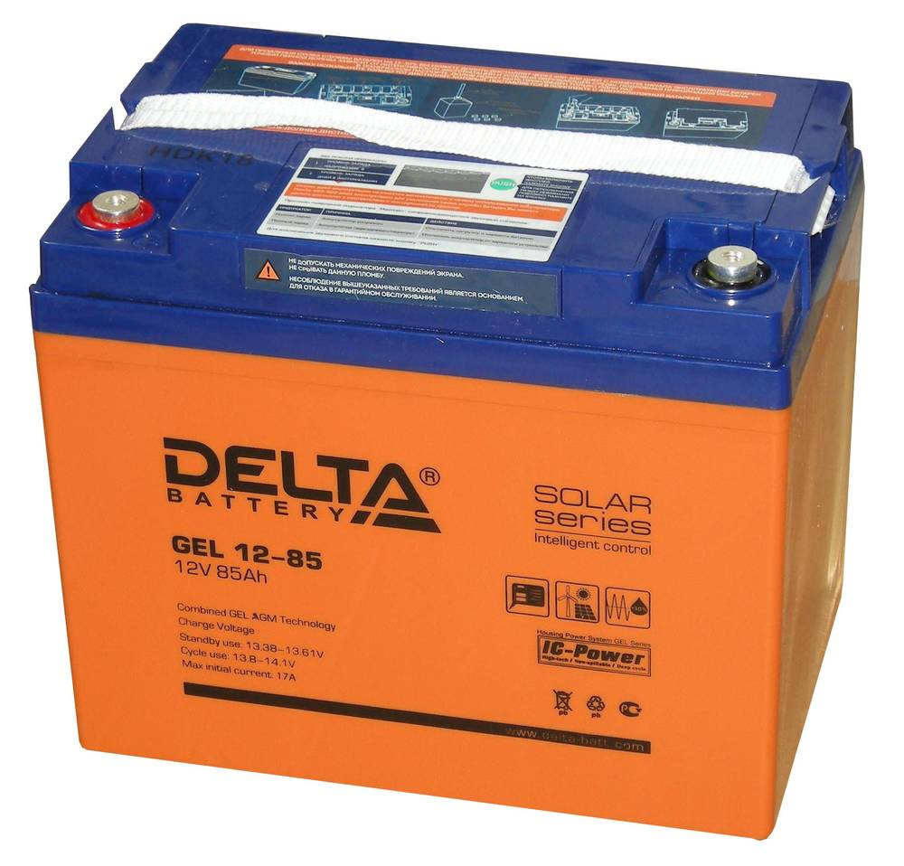 Аккумулятор для ИБП DELTA GEL 12-85