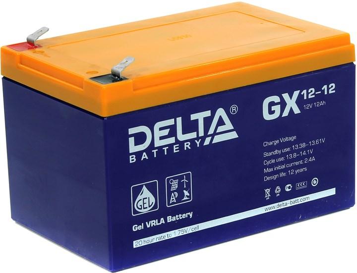 Аккумулятор для ИБП DELTA GX 12-12