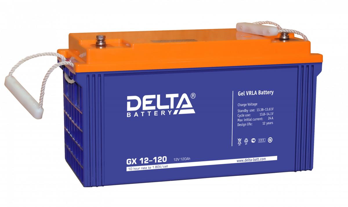 Аккумулятор для ИБП DELTA GX 12-120