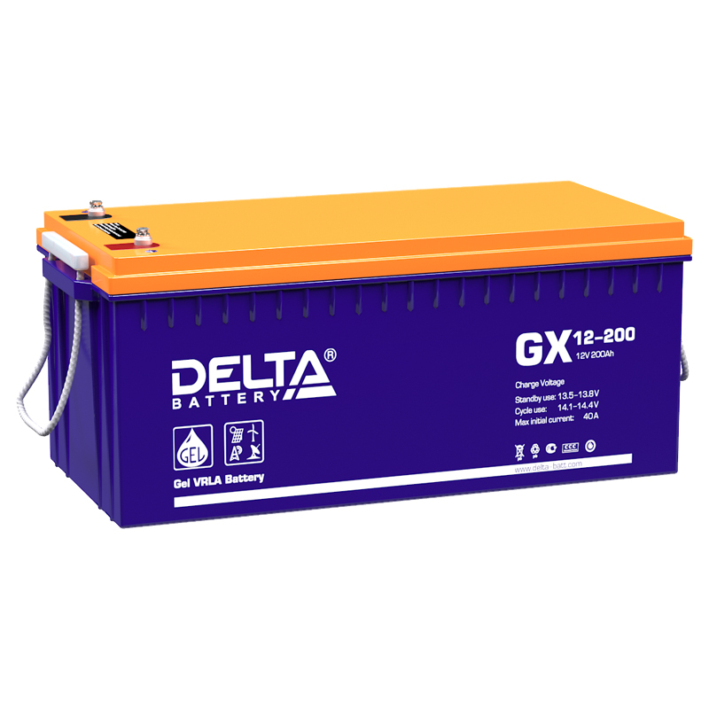 Аккумулятор для ИБП DELTA GX 12-200