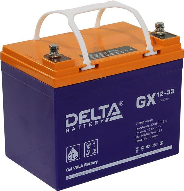 Аккумулятор для ИБП DELTA GX 12-33