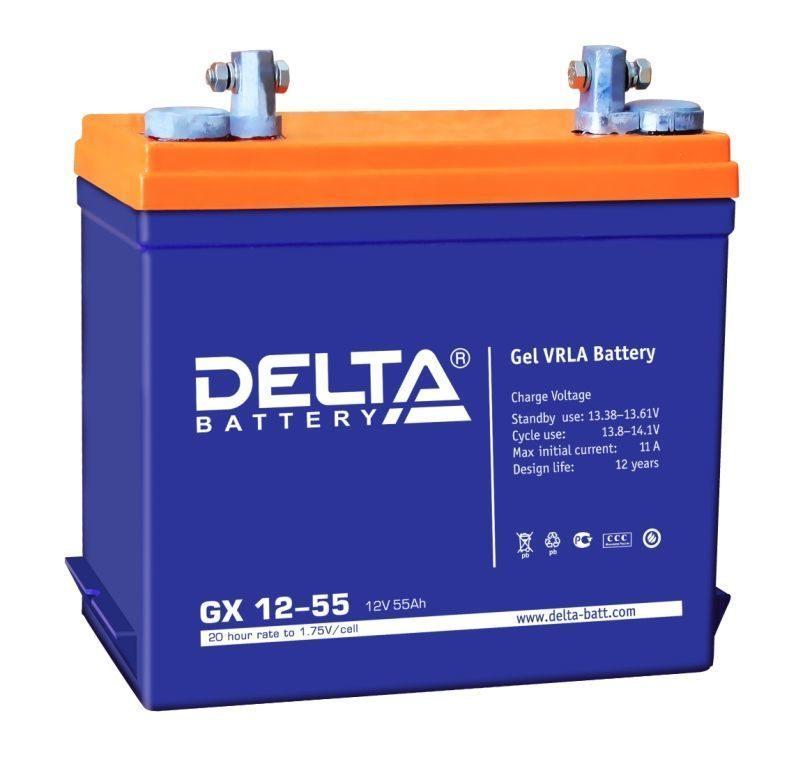 Аккумулятор для ИБП DELTA GX 12-55