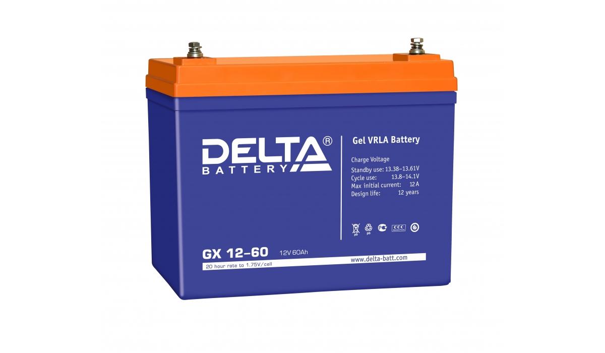 Аккумулятор для ИБП DELTA GX 12-60
