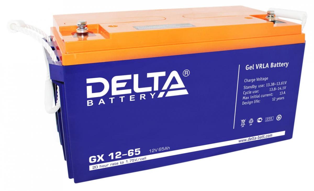 Аккумулятор для ИБП DELTA GX 12-65