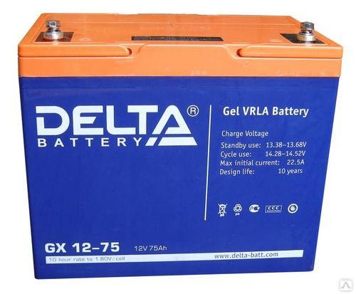 Аккумулятор для ИБП DELTA GX 12-75