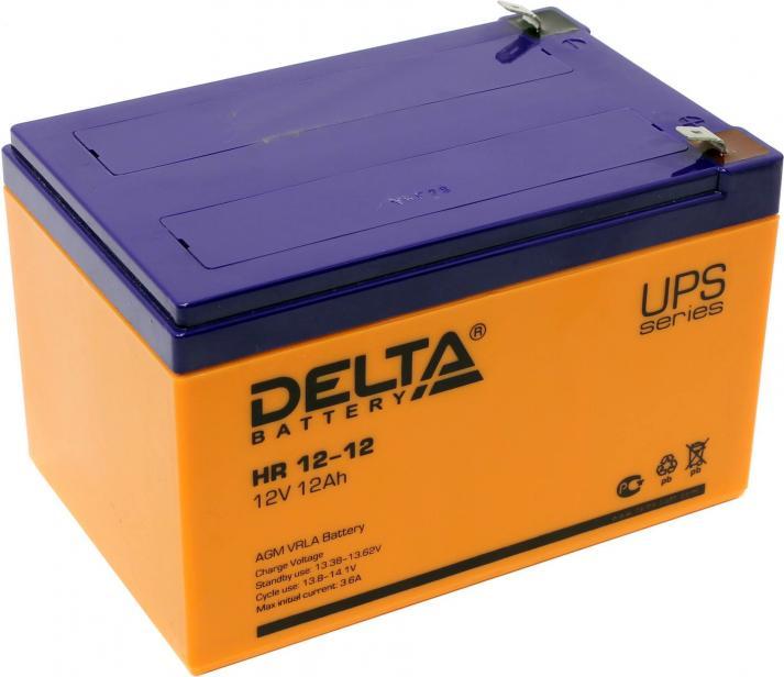 Аккумулятор для ИБП DELTA HR 12-12