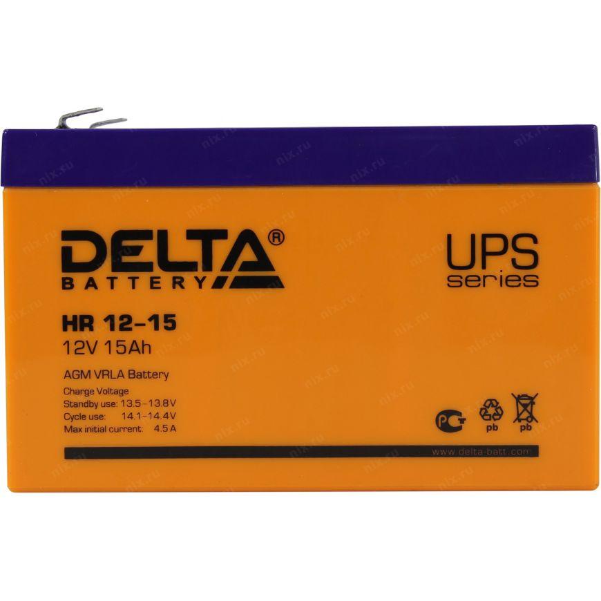 Аккумулятор для ИБП DELTA HR 12-15