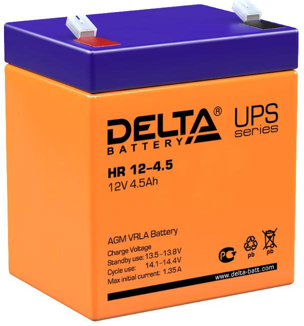 Аккумулятор для ИБП DELTA HR 12-4.5