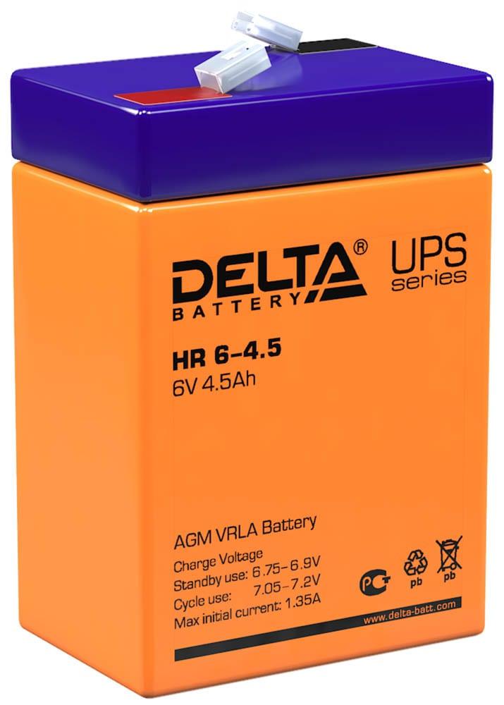 Аккумулятор для ИБП DELTA HR 6-4.5