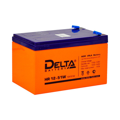 Аккумулятор для ИБП DELTA HR 12-51W