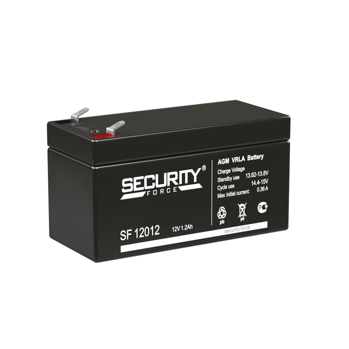Аккумулятор  Security Force 12012