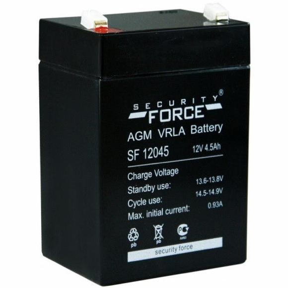 Аккумулятор  Security Force 12045