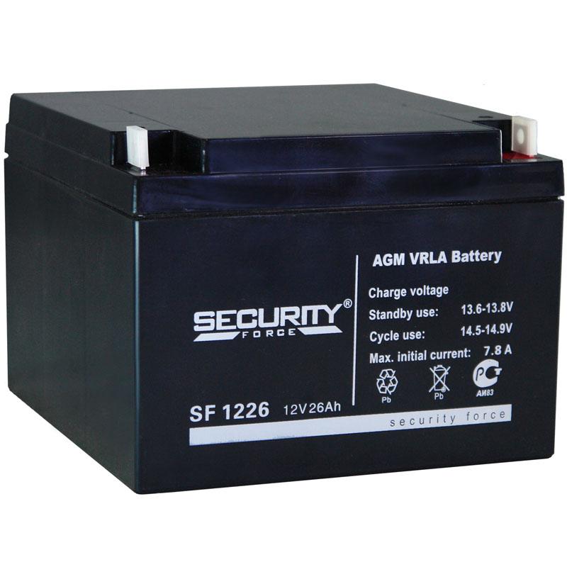 Аккумулятор  Security Force 1226