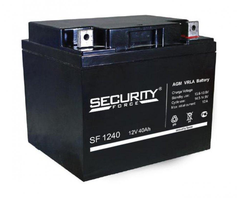 Аккумулятор  Security Force 1240