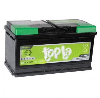 TOPLA AGM Stop&Go 105Ah 950A R+